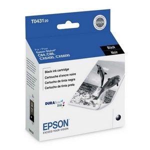 Oem Genuine Solid Ink - Epson T043120 Black High Yield OEM Genuine Inkjet/Ink Cartridge (950 Yield) - Retail