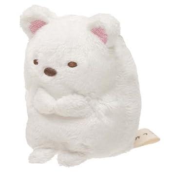 Peluche kawaii mini oso blanco Sumikkogurashi