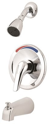 (Pfister R890300 Pfirst Series 1-Handle Tub & Shower Trim in Polished Chrome)