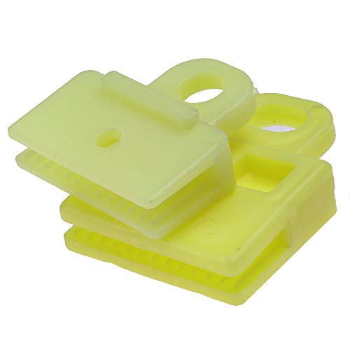 DSparts Window Door Glass Channel Clips Power and Manual Sash Clip Fit for Toyota Corolla Highlander Prius (Fit Sash)