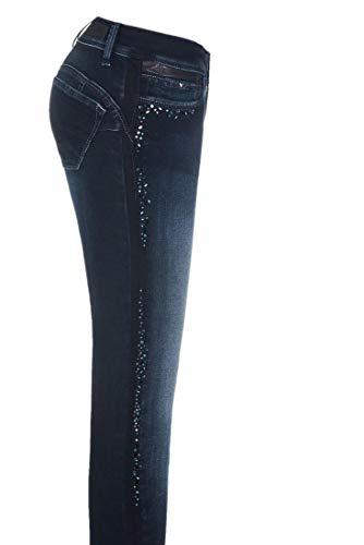 Level Con Wonder Skinny Brillantini Azzuro 1st Jeans Salsa wHISqq