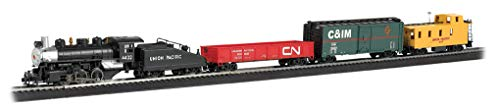 Bachmann Trains - Pacific Flyer Ready To Run Electric Train Set - HO Scale ()