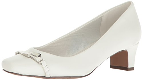 Eenvoudig Street Womens Venture Dress Pump White