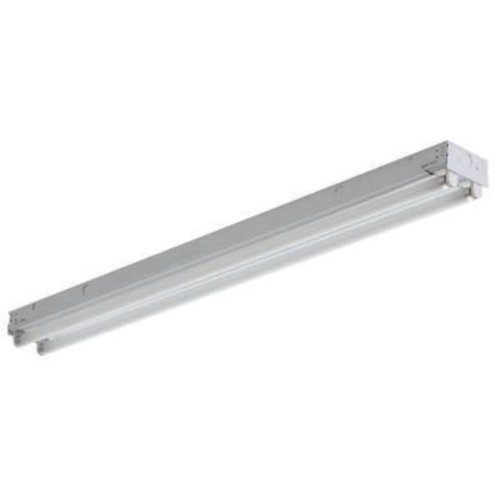 2 ft. Fluorescent Strip Fixture - Medium Body Operates 2 F20T12 Lamps - Lamps Not Included - 120V - PLT ()