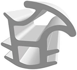 Bestehend aus TPE 5 lfm f/ür Haus- und Innent/üren DIWARO/® Stahlzargen-Dichtung SZ065 Thermoplastischen Elastomer Zum Schallschutz und abdichten der T/ür grau