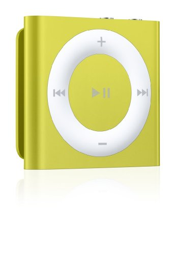 Apple iPod shuffle 2GB Yellow (4th Generation) (Discontinued by Manufacturer)