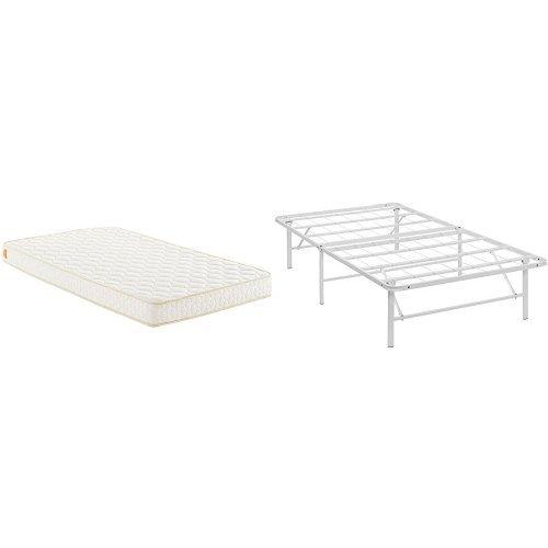 "Modway Emma 6"" Twin Foam Mattress Mattress - Foldable Bed"