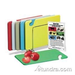 (San Jamar CB1824KC KolorCut® 6 Piece Cutting Board Combo Kit )