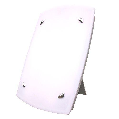 Redstone Tageslichtlampe - 10000 Lux - Medizinprodukt CE 0123 - 12 Monate Garantie - Lichtdusche Lichttherapiegerät Lichttherapie