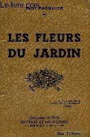 Les fleurs du jardin par Henri Pasquier