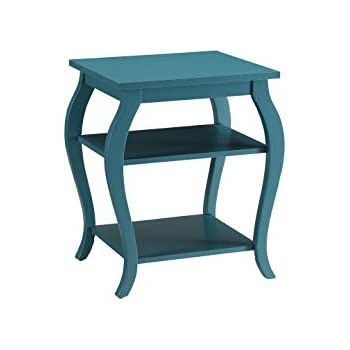 Favorite Amazon.com: ACME Furniture 82832 Becci End Table, One Size, Teal  MH54