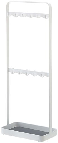 Jewelry & Accessories Tower Organizer Stand Rack in White Finish - 14