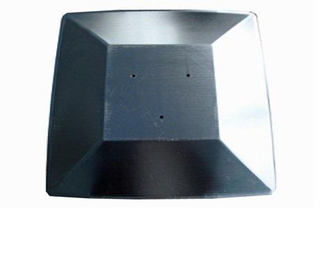 Fire Sense Universal Heat Shield Reflector for 4-Sided Glass Tube Heater (Tube Reflector Sun)