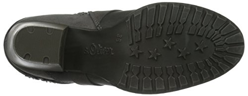 Grey para Mujer Gris 201 s 25307 Comb Oliver Botines wxTYv