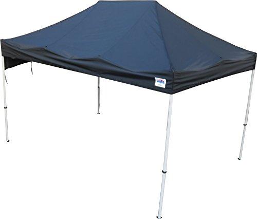 イベント用テント 3x4.5m角サイズ クイックルーフNOVA(ノヴァ)45 B01MSNRSXD ブラック ブラック