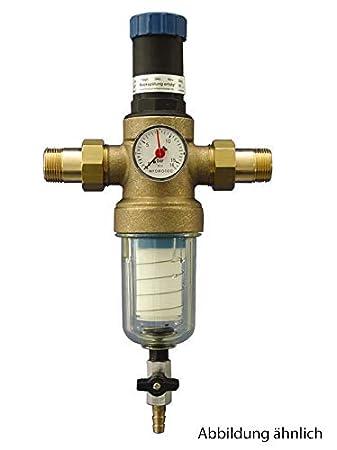 Bekannt Hauswasserfilter rückspülbar, Mit integriertem Druckminderer, 1 GN02