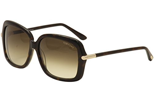 Tom Ford Sunglasses - Paloma / Frame: Tortoise Lens: Brown - Sunglasses Tom Ford 2013