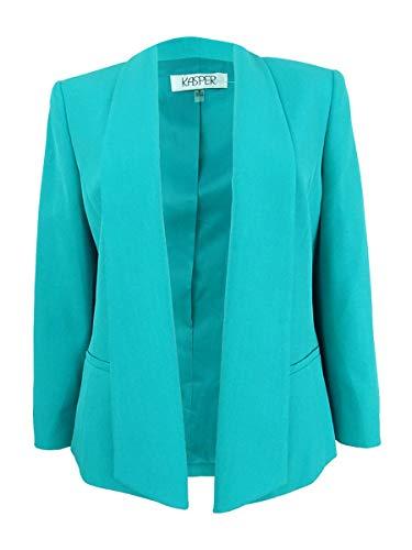 Kasper Women's Seamed Open Jacket, Opal 8