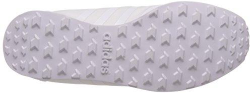 adidas Style Racer Tm W, Zapatillas de Deporte para Mujer Blanco (Ftwbla / Ftwbla / Plamat)