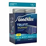 Health & Personal Care : Goodnites Tru-Fit Real Underwear Starter Pack, L/XL, Boys, 7 ea - 2pc