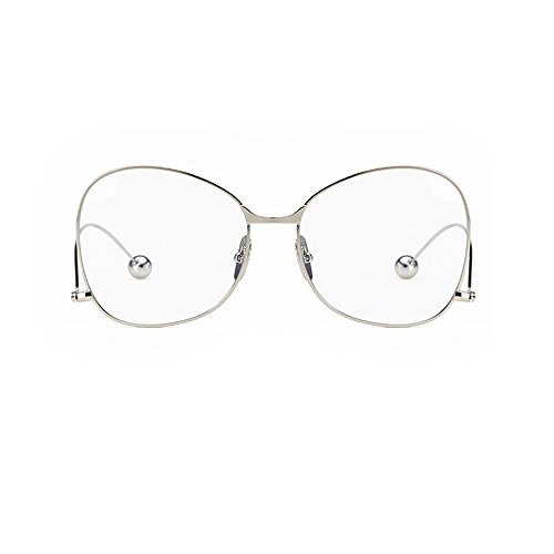 high-quality Boying Oversized Clear Butterfly Lens Glasses Metal ...
