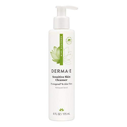 DERMA E Fragrance Free Sensitive Skin Cleanser with Pycnogenol