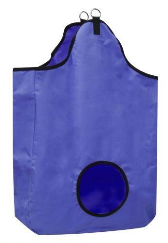 Showman Tough Tote Hay Bag Blue
