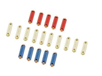 PREMIUM FUSE KIT, Ceramic, Includes 10 8 Amp, 5 16 Amp, & 5 25 Amp