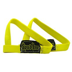 Spud 7530009 1 in. Wrist Straps - Yellow by Spud, Inc.