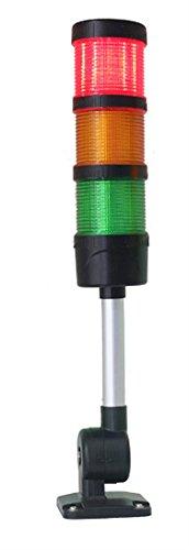 DC 24V Three Layers Machine Light Led Indicator Signal Tower Industries Flashing Light -