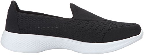Skechers Performance Damen Go Walk 4 Pursuit Wanderschuh Schwarz-Weiss