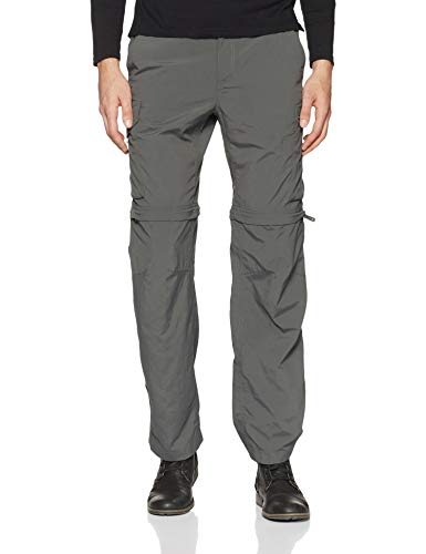 - Columbia Men's Silver Ridge Convertible Pant, Breathable, UPF 50 Sun Protection, Grill, 40x32