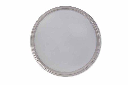 Garden trading ladbroke bathroom ceiling light satin nickel silver white