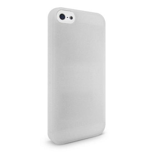 iLuv Gelato TPU Case for iPhone 5C - Retail Packaging - White (Case Gelato Iluv)