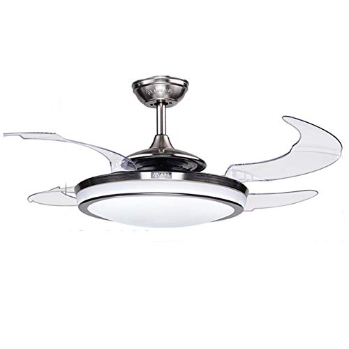 Fan Ceiling Brushed Chrome Diameter - Fandian 48