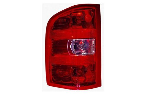 Chevrolet Silverado Driver Side Replacement Tail Light