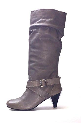lollipop footwear  Low heel, Style pull-on en cuir femme