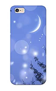 91fcfab5803 Freshmilk Awesome Case Cover Compatible With Iphone 6 Plus - Winter Snow Snowflakes Christmas Trees Forests Skies Seasonal Moons Holidays