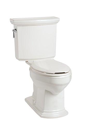 (Mansfield Plumbing 4115.3106.WHT Barrett HET Toilet)