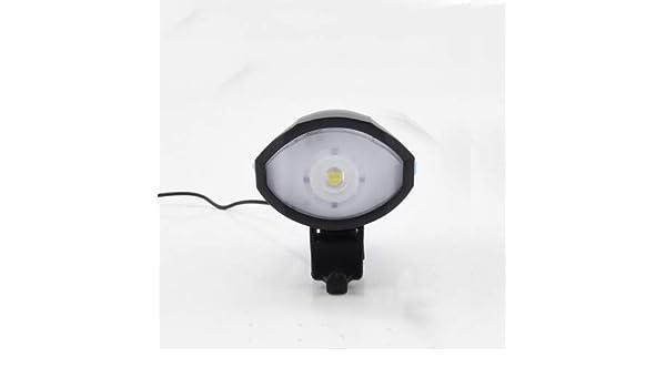 KMM mejores luces para bicicleta con bocina de bicicleta superfuerte, linterna de seguridad para bicicleta nocturna, recargable por USB y resistente al agua, juego de luces LED para bicicleta, instalación rápida: Amazon.es: