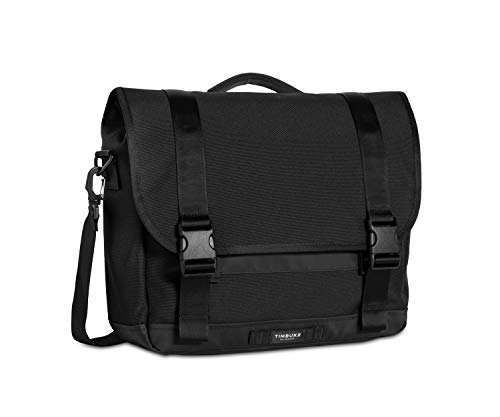 Timbuk2 Commute Messenger Bag 2.0, Jet Black, Small