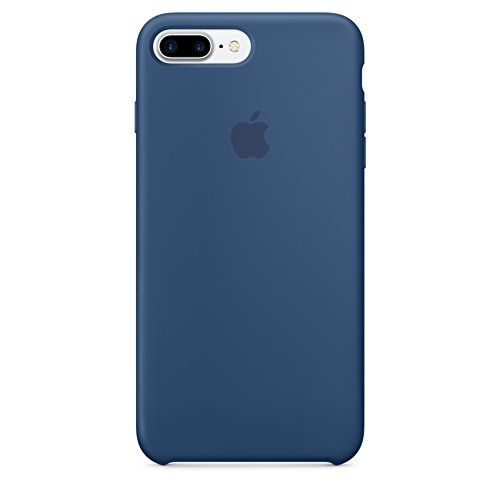 Apple Silicone Case for iPhone 7 Plus - Ocean Blue