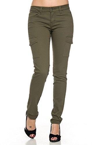Green Womens Pants - 9