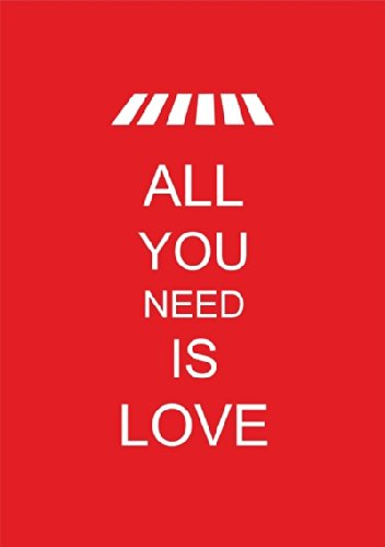 "Disagu Design Case Schutzhülle für Apple iPhone 7 Plus Hülle Cover - Motiv ""ALL YOU NEED IS LOVE"""