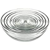 Anchor Hocking Tempered Glass Assorted Dishwasher Safe Mixing Bowl, (20 Piece)