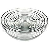 Anchor Hocking Glass Bowl Set - 10 pcs