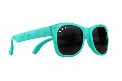 Care Age Proof Sun (Roshambo Baby Shades, Polarized Goonies (Teal))