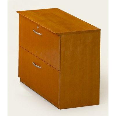 UPC 760771676780, Mayline VLFGCH Corsica Series Lateral File Cabinet, Golden Cherry Veneer