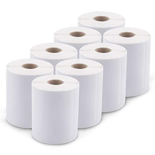 [8 Rolls, 1760 Labels] Address & Shipping Labels 1744907 (4 x 6