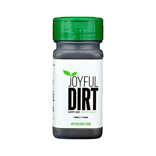 General Purpose Fertilizer - Joyful Dirt Concentrated All Purpose Organic Fertilizer and Plant Food. Easy Use Shaker (2 oz)